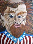 Satirical, Sardonic Oil Paintings by Michigan Artist James Homer Brown: Member of the Detroit Art Scene