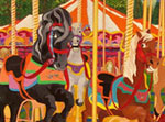Carousel and Merry Go Round Paintings by James Homer Brown